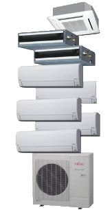 Mini Split  Ductless Air Conditioners and Heat Pumps are efficient and reliable.