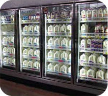 We work on commercial reach in coolers and other refrigeration appliances